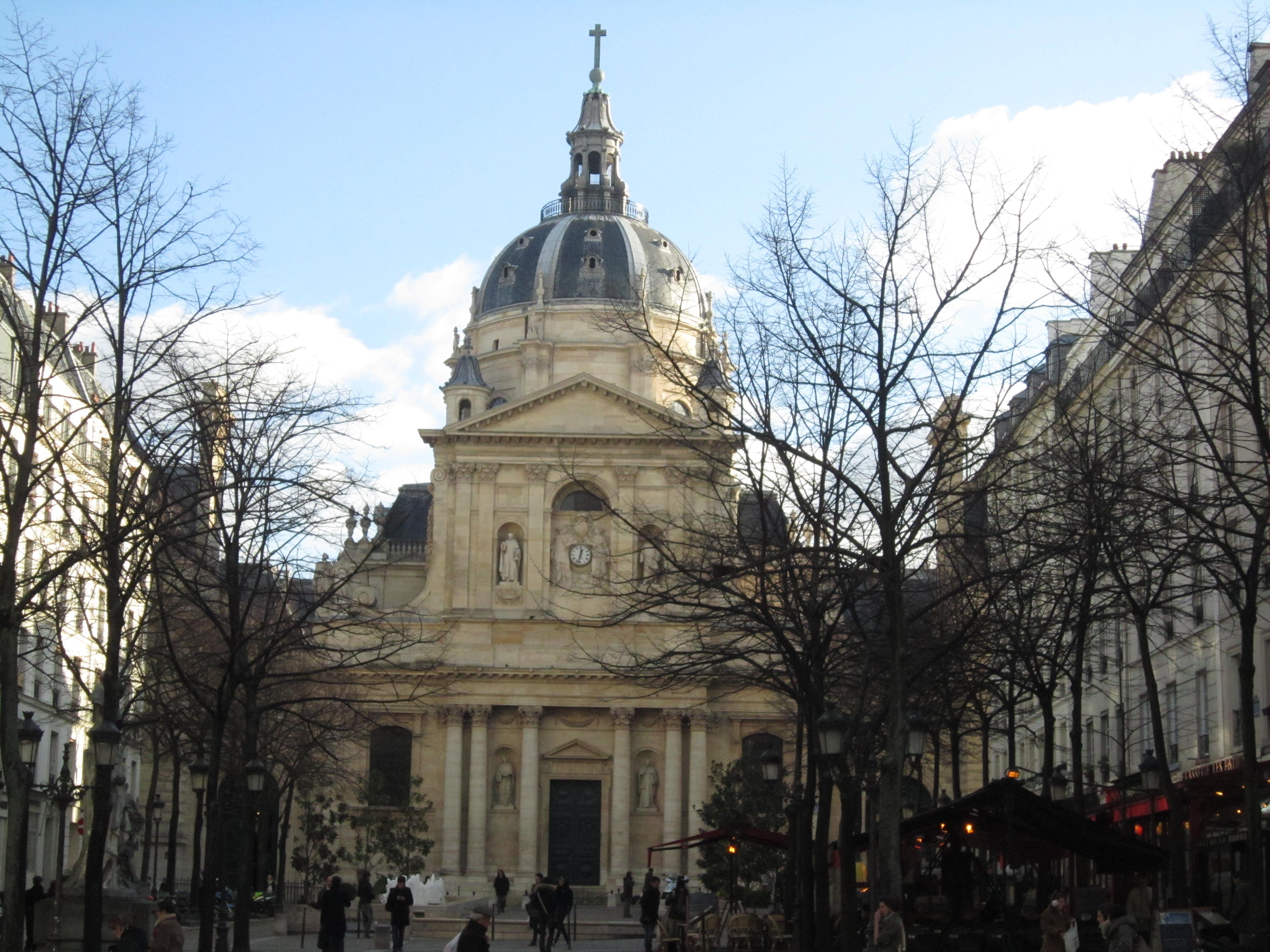 偶遇-巴黎大学